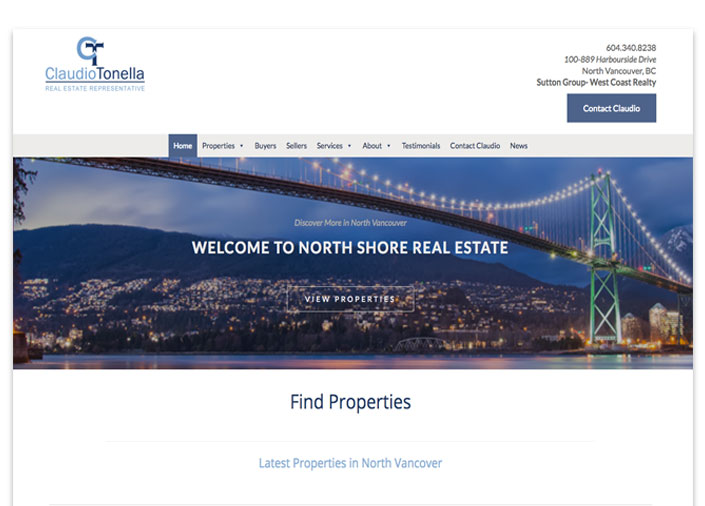 Custom Real Estate Websites