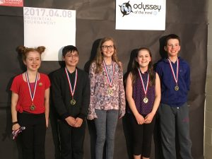 Hillcrest Odyssey team